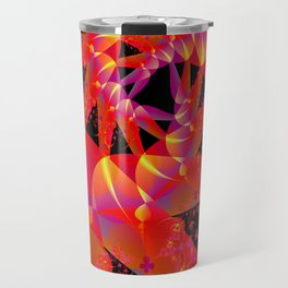 Firecracker Red Travel Mug