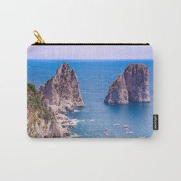 Capri Faraglioni Carry-All Pouch