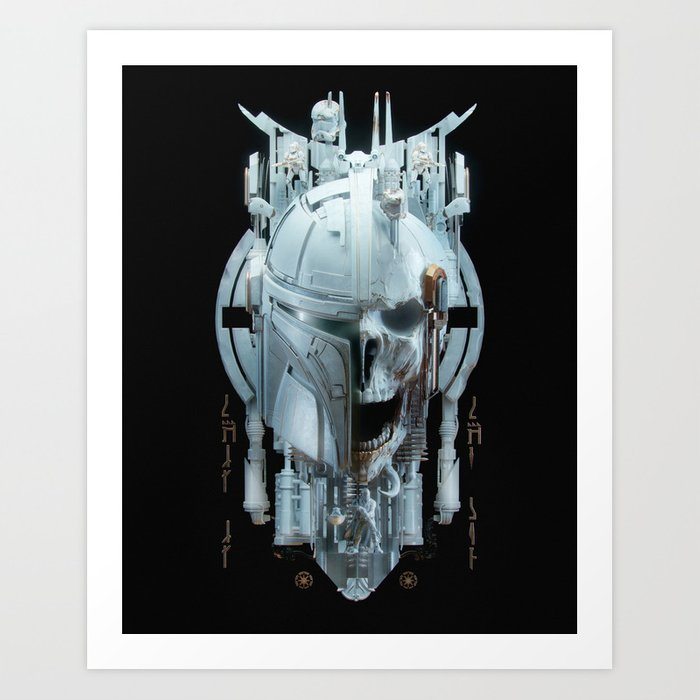 Mando - 2 Art Print