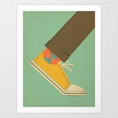 Argyle Sock Art Print
