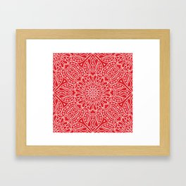 Mandala 38 Framed Art Print