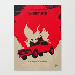 No1070 My Cherry 2000 minimal movie poster Canvas Print