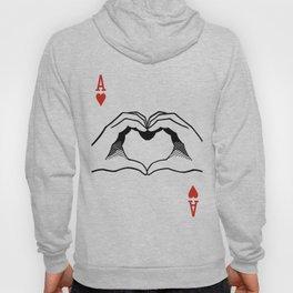 Ace of Heart Hands Hoody