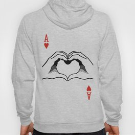 Ace of Heart Hands Hoody