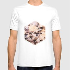 Endless Design MEDIUM White Mens Fitted Tee