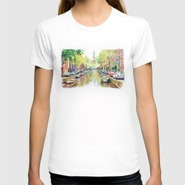 Amsterdam Canal 2 T-shirt
