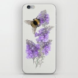 Watercolor Bumble Bee iPhone Skin