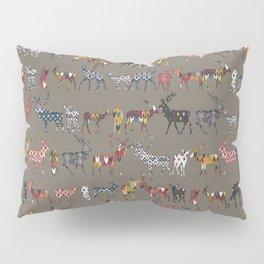 mushroom spice deer Pillow Sham