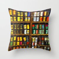 film Throw Pillows featuring Film by Slow Toast
