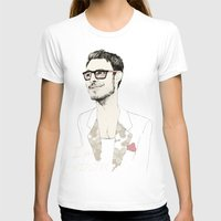chad wys T-shirts featuring I´m hipster  by Cecilia Sánchez