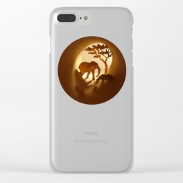 Africa (Afrique) Clear iPhone Case