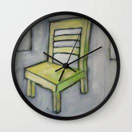 The Short Chair Wall Clock