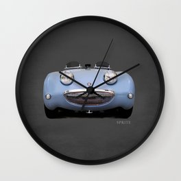 The Frogeye Sprite Wall Clock