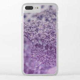 Sedum in Winter Clear iPhone Case