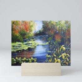 Magical lake Mini Art Print
