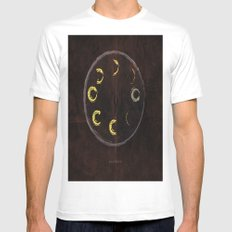 Lunar Activity Mens Fitted Tee MEDIUM White