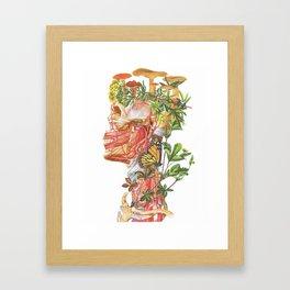 Mushroom Man Framed Art Print