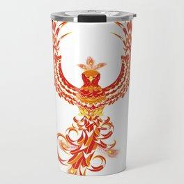 Mythical Phoenix Bird Travel Mug