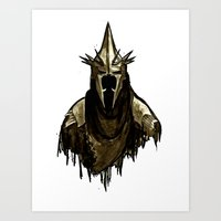 Lord of the Rings- Witch King Art Print
