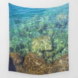 Greek Sea Water Wall Tapestry