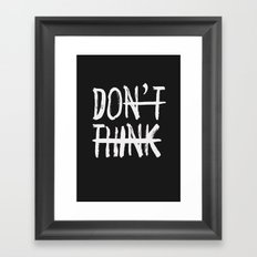 DO Framed Art Print