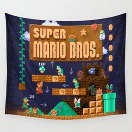 Mario Super Bros Wall Tapestry
