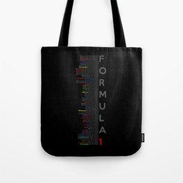 Formula 1 Champions Tote Bag
