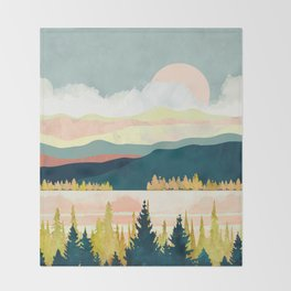 Lake Forest Throw Blanket