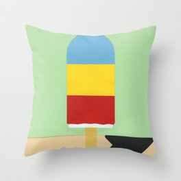 Ice Henry Throw Pillow