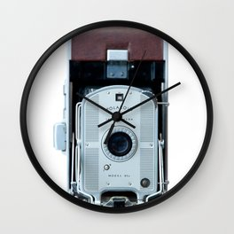 Polaroid Land Camera Wall Clock