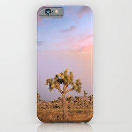 Sunset at Joshua Tree National Park iPhone Case