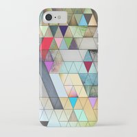 triangles iPhone & iPod Cases featuring Triangles  by Jason Michael
