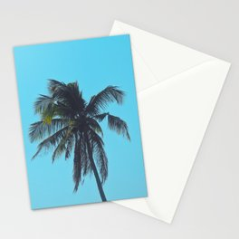 Palm in Blue Stationery Cards