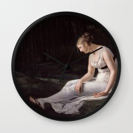 Melancholy, Constance-Marie Charpentier, 1801 Wall Clock