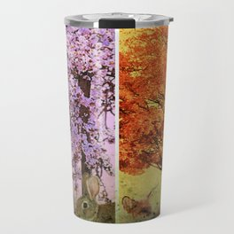 Four Seasons One Picture Travel Mug