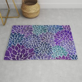 Floral Abstract 22 Rug