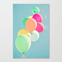 Balloon Mania Canvas Print