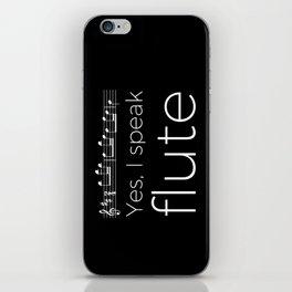 Yes, I speak flute iPhone Skin