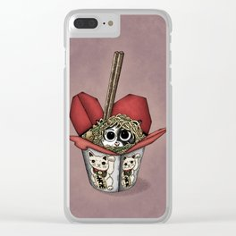 Lucky Cat Clear iPhone Case