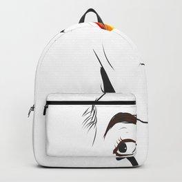 Lgbt lips flag lesbian gay pride abstract art Backpack