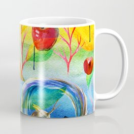 Abstract unicorns mistic design Coffee Mug