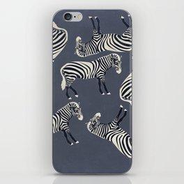Zebra Pattern DF iPhone Skin