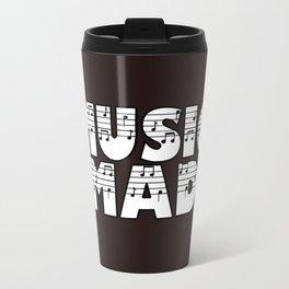MUSIC MAD Travel Mug