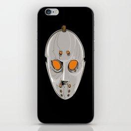 Hockey Goalie Mask iPhone Skin