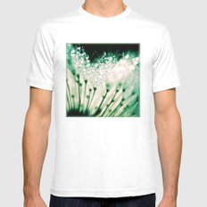bubbles White Mens Fitted Tee MEDIUM