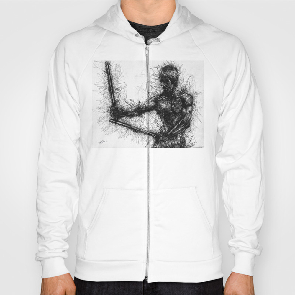 Bruce Kung Fu Master Lee, Drawing, Wall Art, Kung … Hoody by Juliolucas SSR8502345