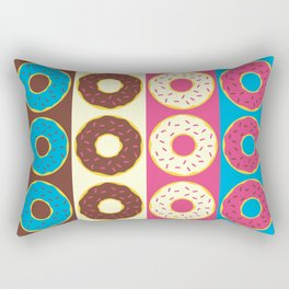 Dozen Donuts Rectangular Pillow