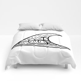 Wave in a Wave Comforters