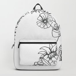 chlorophyll clots (white) Backpack