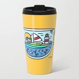 CupScape Metal Travel Mug